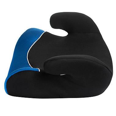 Автокрісло-бустер Sena Marco 15-36 кг Black-Blue, фото 2
