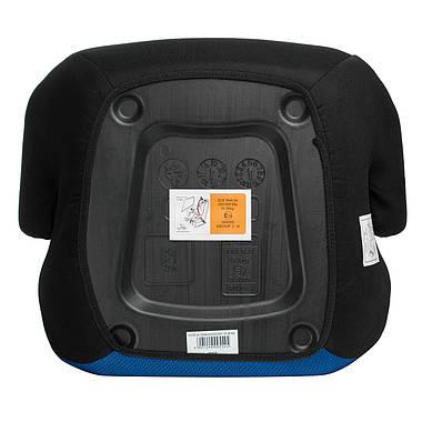 Автокрісло-бустер Sena Marco 15-36 кг Black-Blue, фото 3