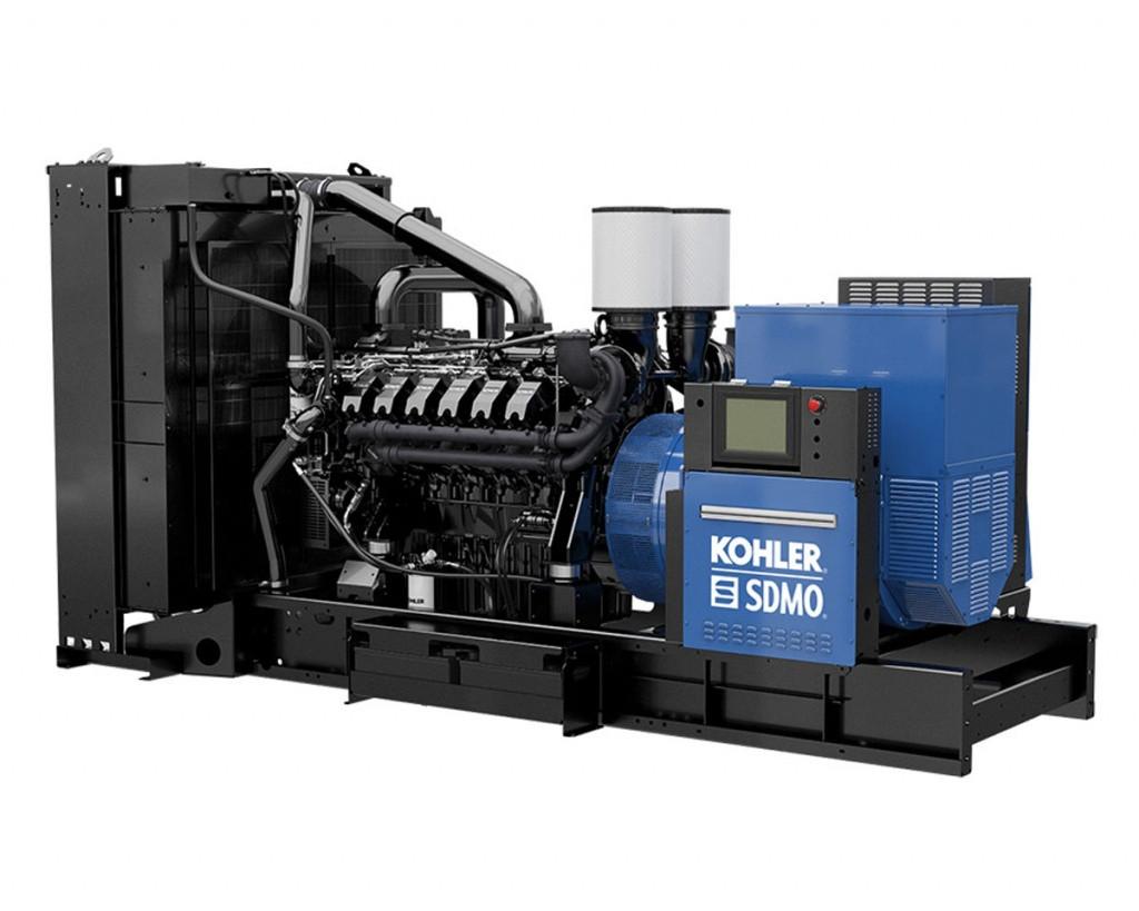 Трехфазный дизельный генератор SDMO KD1100 (880 кВт)