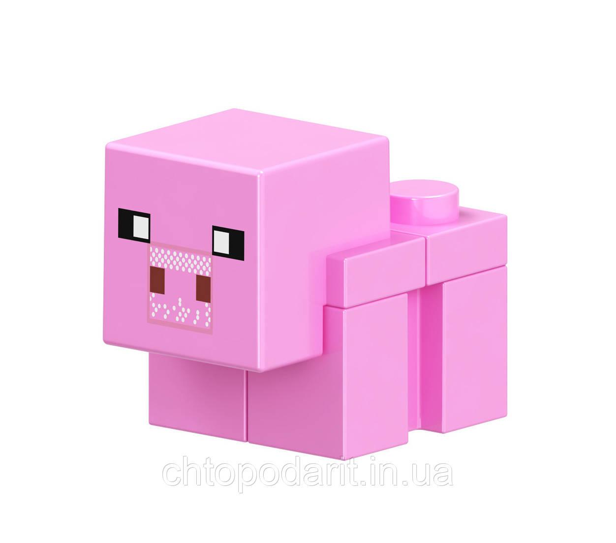 Человечки Minecraft Свинка Код 90-198