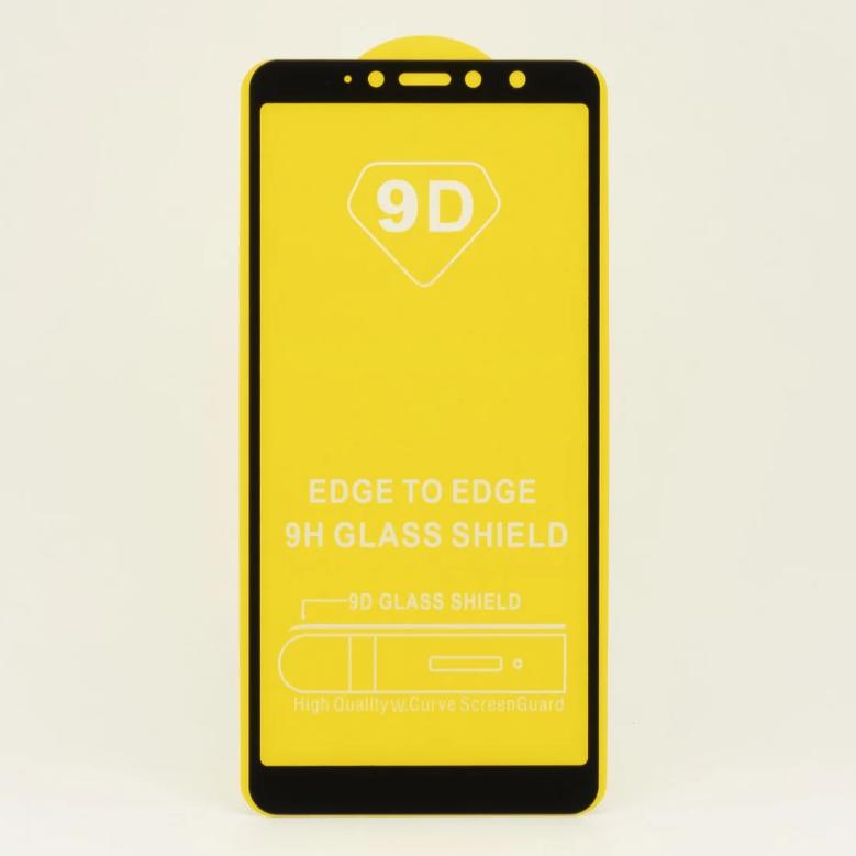 Защитное стекло 9D для Xiaomi Redmi S2 Черный