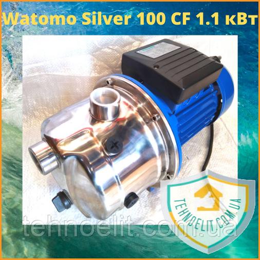 Поверхностный центробежный насос для насосной станции Watomo Silver 100 CF 1.1 кВт, нержавейка