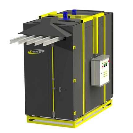 Печь полимеризации ONYX 2М-1250 (2120х1250х3000). Super economical from 1.0 kW, фото 2