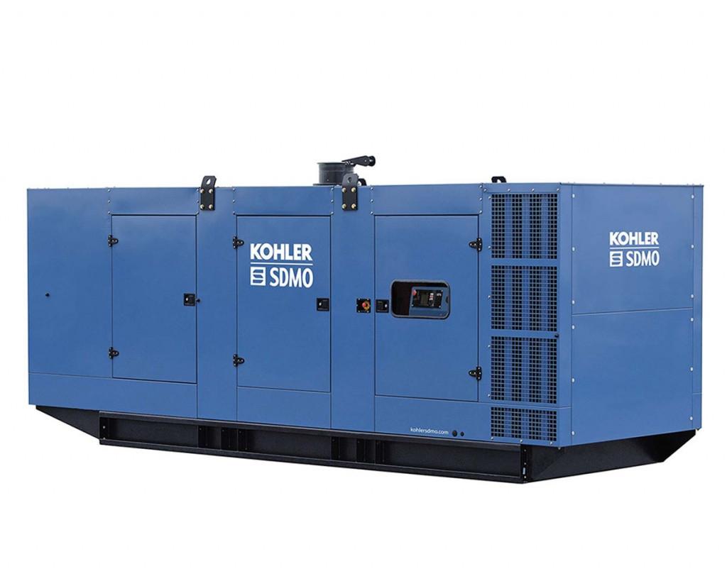 Трехфазный дизельный генератор SDMO KD1100 (880 кВт) с автоматическим запуском