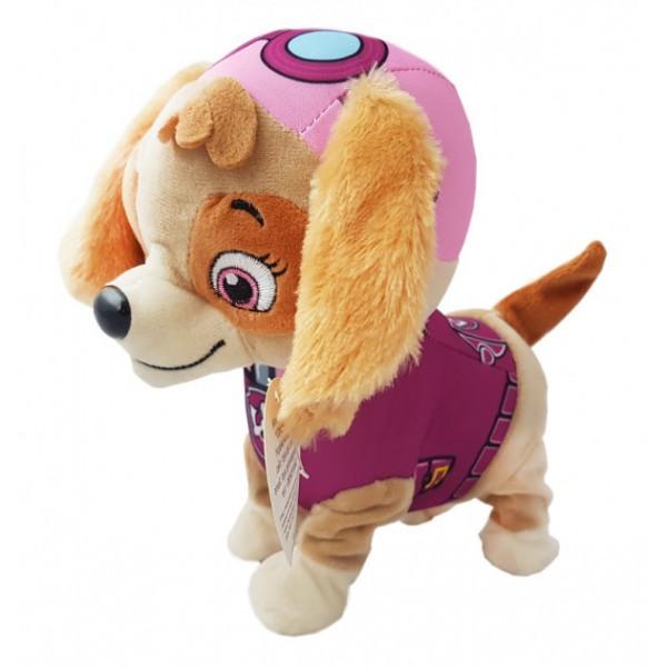 Скай щенячий Патруль, интерактивная,  игрушка, бегает, лает, поет, песню, скай