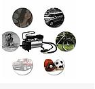 Автомобільний компресор насос AIR COMRPRESSOR SINGLE BAR GAS PUMP, фото 6