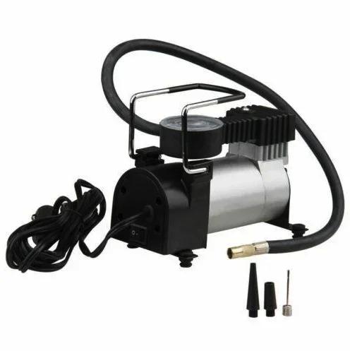 Автомобильный компрессор насос AIR COMRPRESSOR SINGLE BAR GAS PUMP