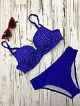 Женский купальник двойка с чашками и перекрутом vN6737, фото 2