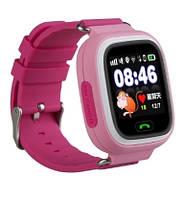 Детские умные часы Smart Baby Watch Q90 Розовый