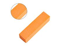 Баф для маникюра, оранжевый