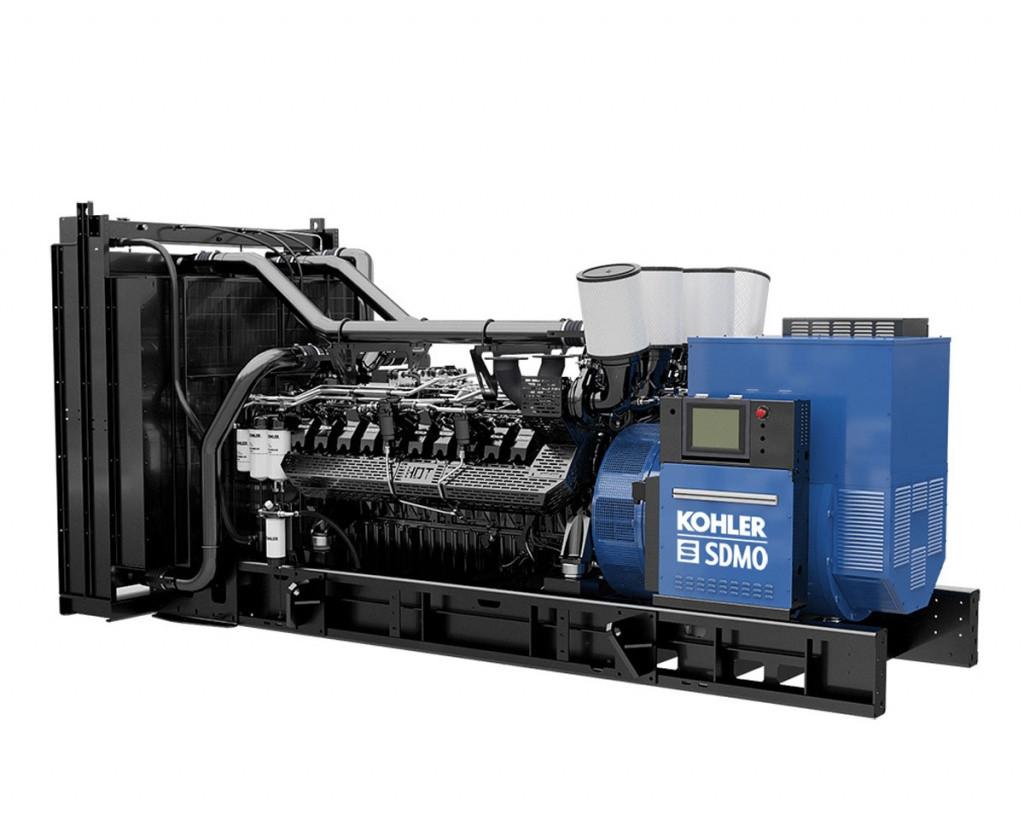 Трехфазный дизельный генератор SDMO KD1400 (1136 кВт)