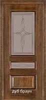 Двери Caro 53 TERMINUS Шпон 60, 70, 80, 90 см