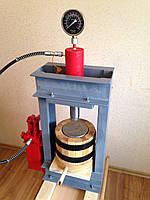 Пресс для отжима масла на 1,5 литра с гидроцилиндром на 30тонн. Холодный отжим, фото 1