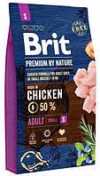 Сухой корм Brit Premium Dog Adult S 1 kg для собак
