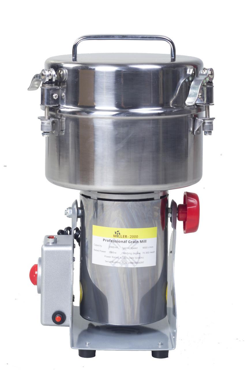 Бытовая мельница для зерна MILLER-2000