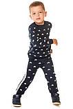 Джемер кофта для мальчика вязаный, синий, 80см, фото 5