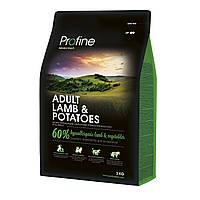 Сухой корм Profine  Adult Lamb ягненок 3 kg для собак