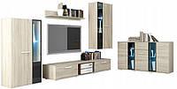 Меблі для вітальні Cube Дуб Сонома (5 елементів)