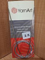 Спицы круговые YarnArt №2.5(70 см)