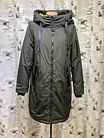 Куртка женская батал весна/осень Olanmear B20135