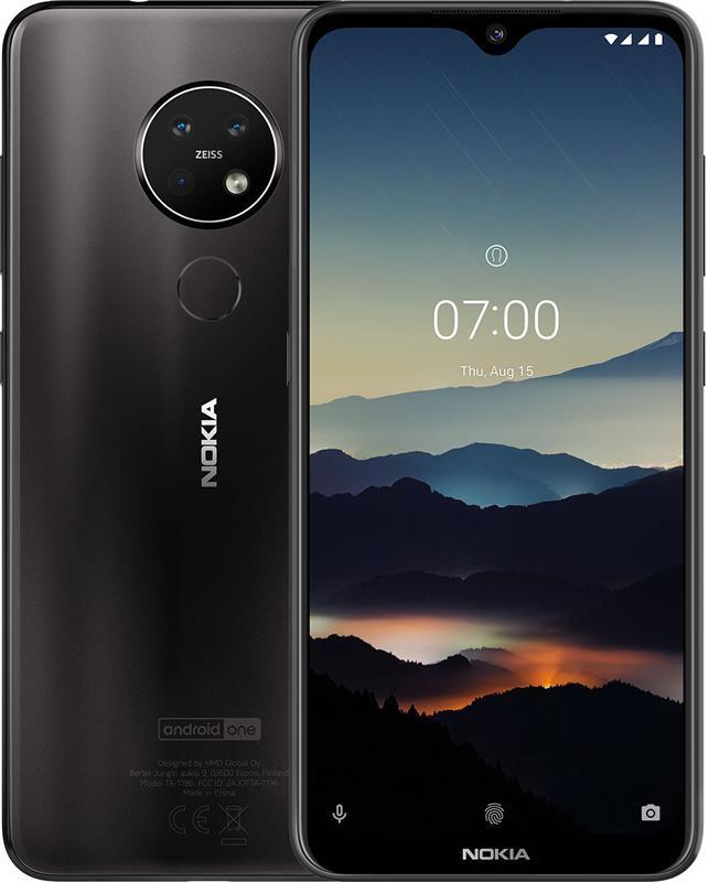 Nokia 7.2 4/64GB Dual Sim Charcoal Black
