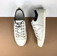 Мужские белые кеды Louis Vuitton (Луи Виттон) арт. 39-14