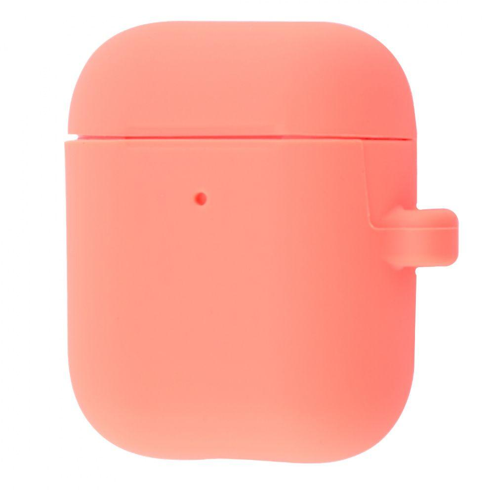 Чехол Tina Silicone Case Slim with Carbine for AirPods 2