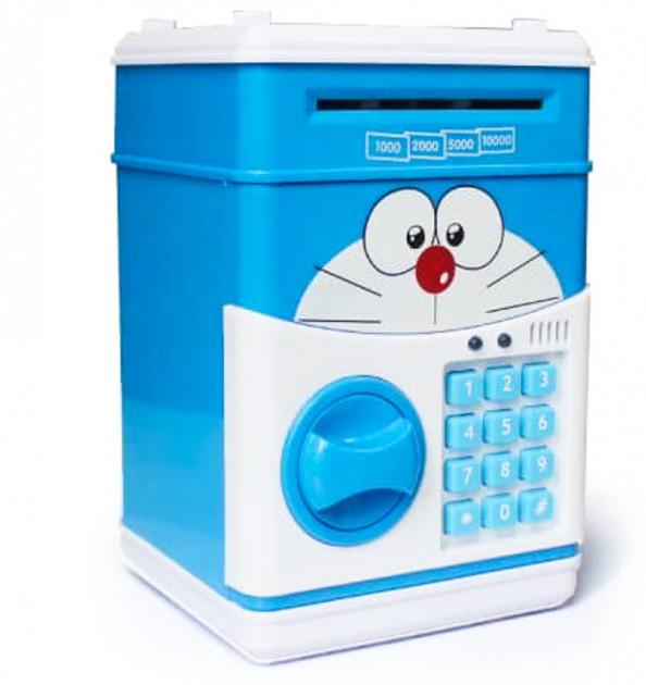 Электронные копилки | Копилка для детей | Игрушка копилка сейф с кодовым замком и купюроприемником