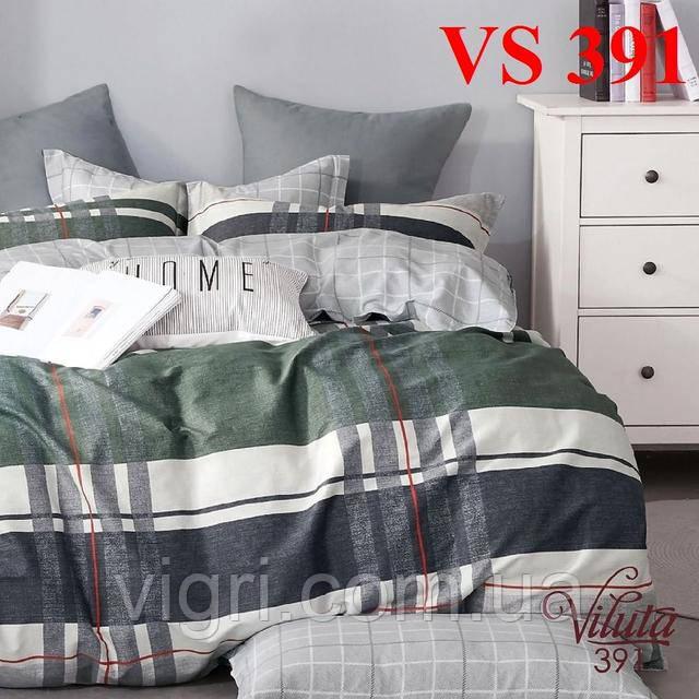 Постельное белье полуторка, сатин, Вилюта «Viluta» VS 391