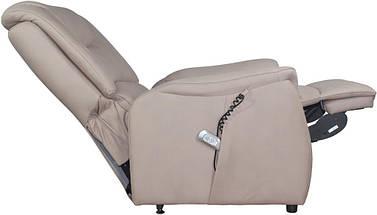 Кресло электро-реклайнер DM-01002 ткань капучино TM Bellini, фото 3