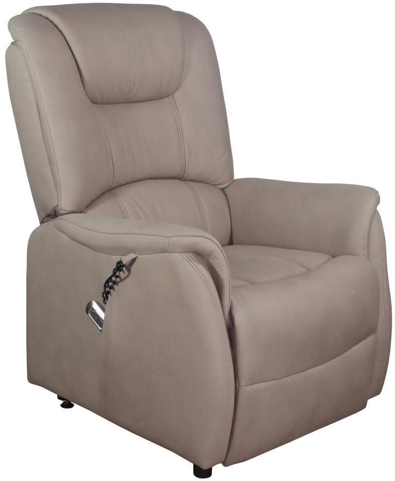Кресло электро-реклайнер DM-01002 ткань капучино TM Bellini