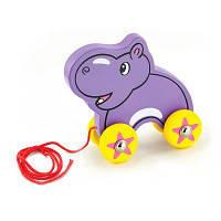 Каталка Viga Toys Бегемот (50092)