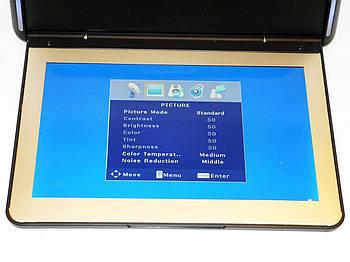 Автомобильный потолочный монитор JL-1139FS HD с USB/SD Тонкий корпус телевизор потолочный тонкий