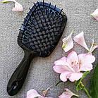 Расческа для волос Janeke 1830 Superbrush The Original Italian  Черная, фото 3
