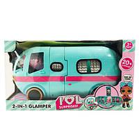 Игровой набор от Лол L.O.L. Storage Bus Glamper Автобус с куклой и аксессуарами