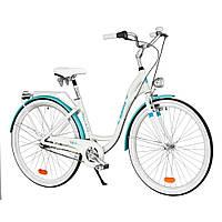 Велосипед городской INDIANA Moena A7B white-lazur, фото 1