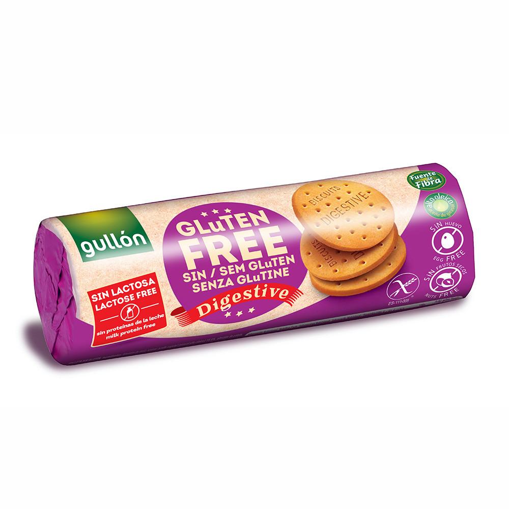 Печиво GULLON, без глютену, Digestive, 150г (12шт)