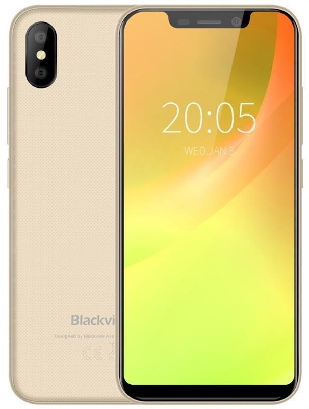 Blackview A30 2/16GB Dual Sim Soft Gold (6931548305545)