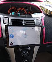 Штатная автомагнитола Toyota YARIS 2008-2013 на Android с хорошей звуковой настройкой