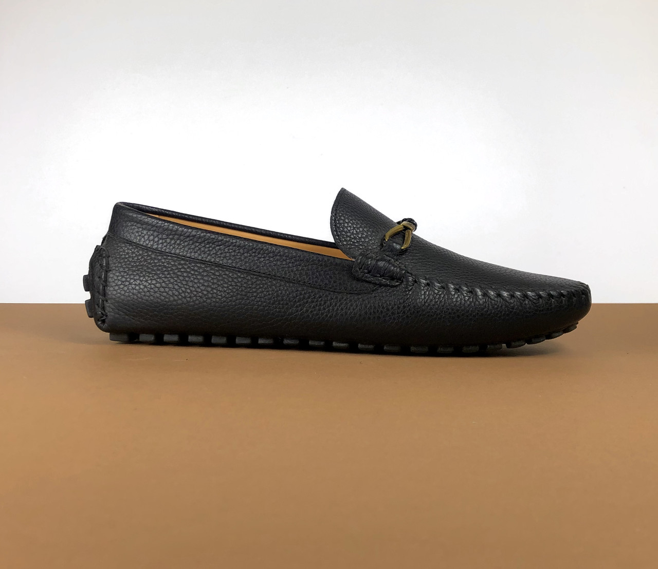 Мокасины Louis Vuitton черные (Луи Виттон) арт. 39-25