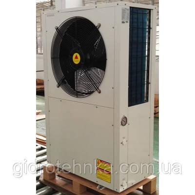 Тепловой насос воздух-вода Clitech CAR -12XB Side Fan на 155 кв.м.