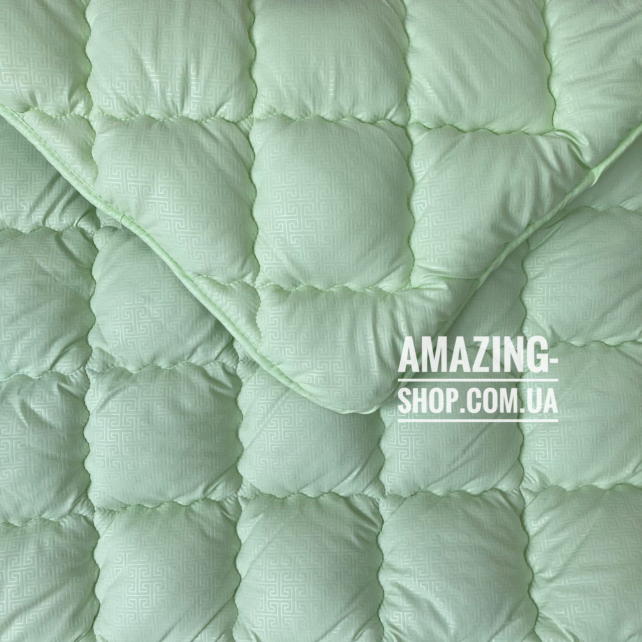 "Одеяло полуторное на холлофайбере ""ODA"" 155*210 см   Тепла ковдра, наповнювач холлофайбер. Стеганое одеяло ОДА"