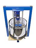 Виноградный пресс 25л с домкратом, давление 5 тон, гидравлический. Для яблок, винограда, сыра., фото 4