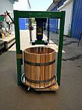 Соковыжималки ручные 25л с домкратом, давление 5 тон. Для яблок, винограда, сыра и тд., фото 5
