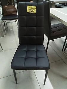 Стул N-66-2 черный от Vetro Mebel, экокожа