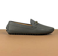 Мокасины мужские Louis Vuitton серые (Луи Виттон) арт. 39-24, фото 1