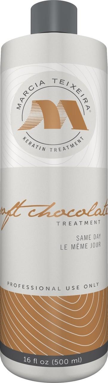 Состав для кератинового выпрямления волос Marcia Teixeira Soft Chocolate, 500 мл