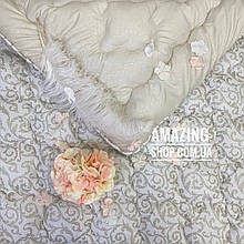 "Одеяло полуторное на холлофайбере ""АРДА"" Размер 150*210 см | Ковдра, наповнювач холлофайбер. Стеганое одеяло"