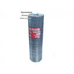 Сетка сварная оцинкованная 25,4х12,7 Ø1,8 высота 1м длина 15м