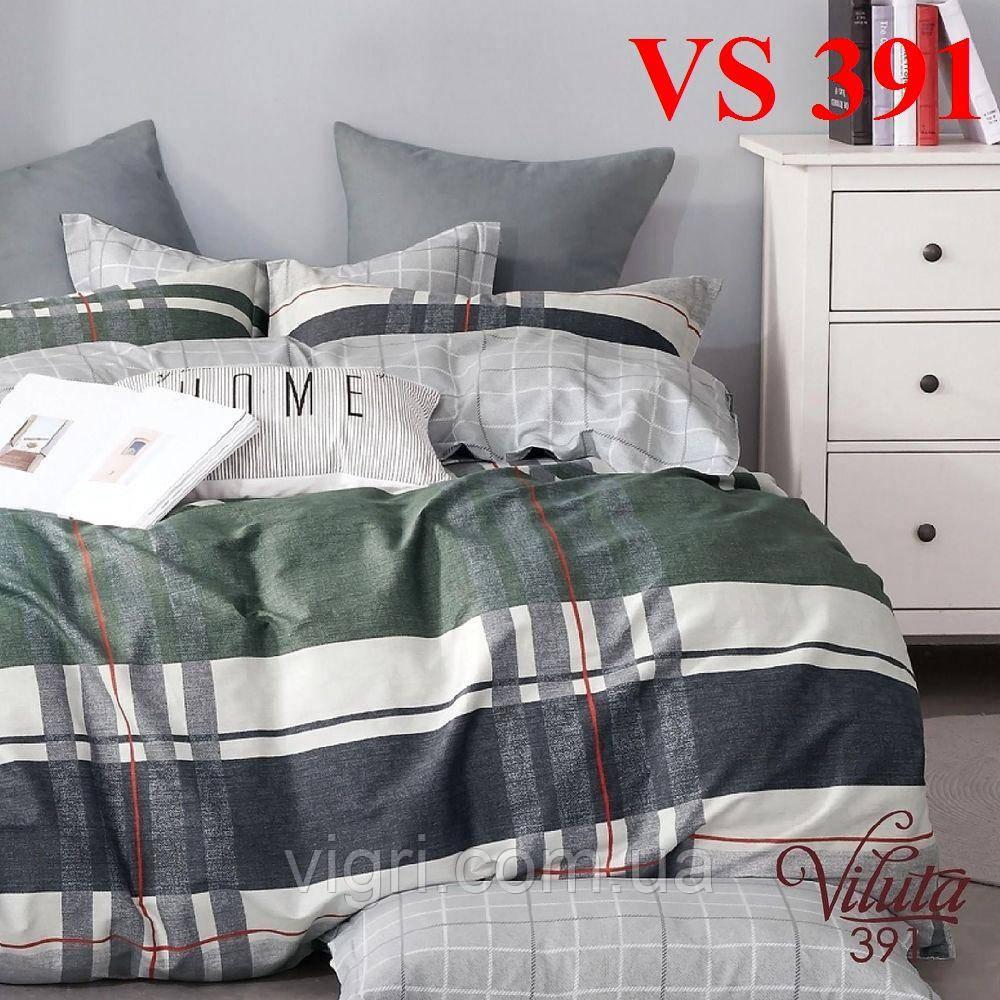 Постельное белье евро комплект, сатин, Вилюта «Viluta» VS 391